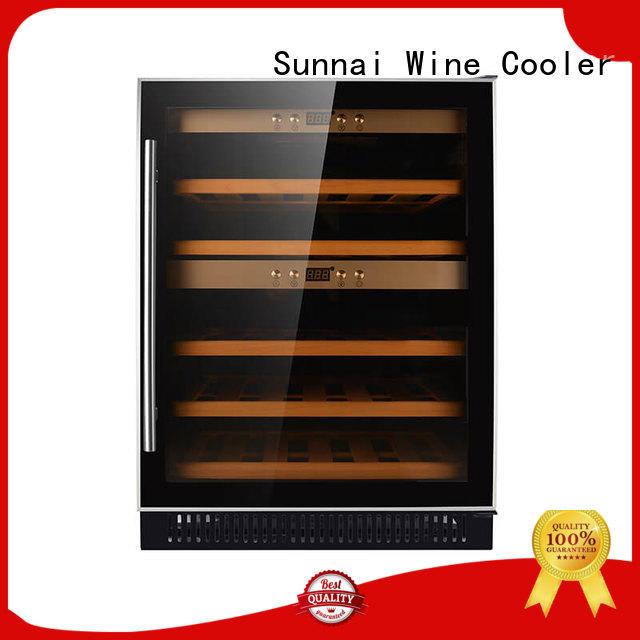 Sunnai cooler under counter wine fridge supplier for shop