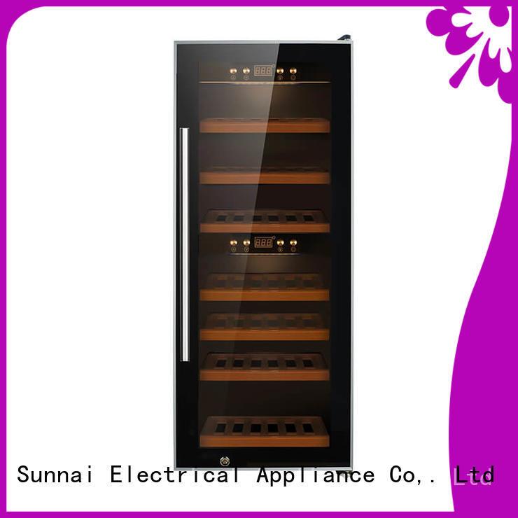Sunnai professional wine storage refrigerator product for shop