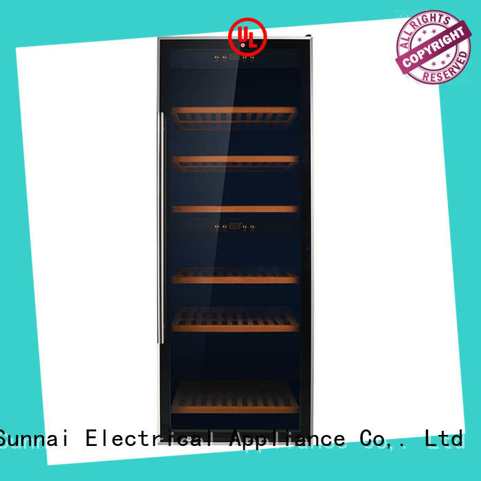 Sunnai wine single zone wine cooler product for home