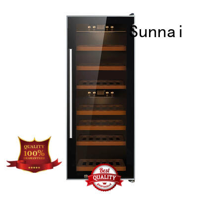 professional wine bottle cooler beech series for home