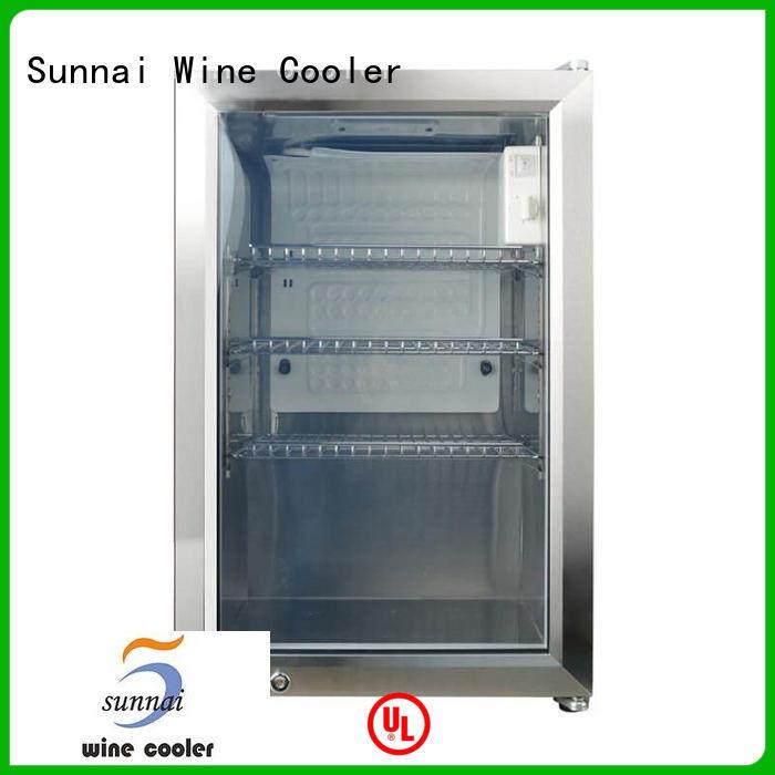 Sunnai wifi compressor beverage cooler series for shop