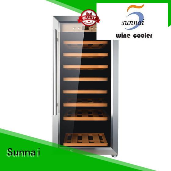 steel white wine cooler supplier for indoor Sunnai