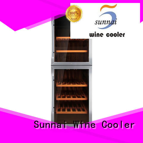 Sunnai professional under counter wine refrigerator series for home