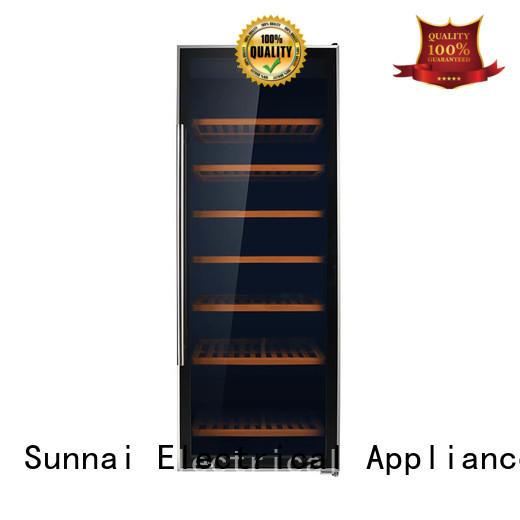 Sunnai single wine storage cooler manufacturer for work station