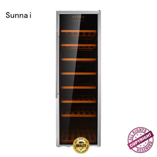 durable wine storage cooler black product for indoor