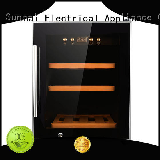 Sunnai smaller freestanding wine cooler product for shop