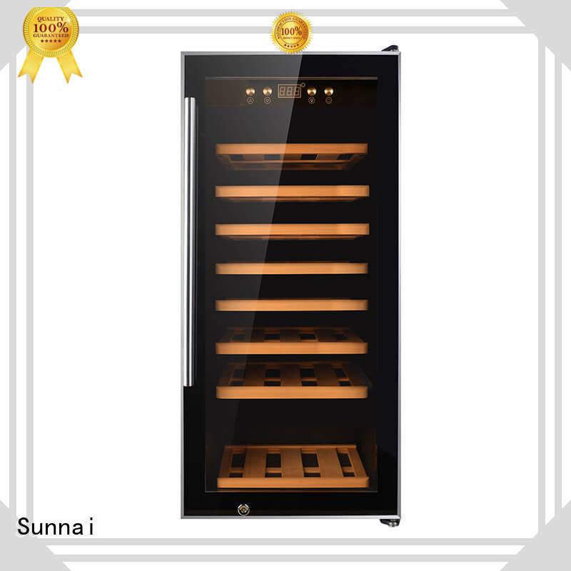 Sunnai single single zone wine fridge refrigerator for home