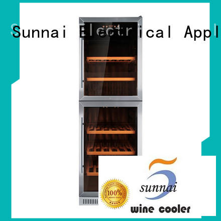 Sunnai safety compressor wine coolers cooler for indoor