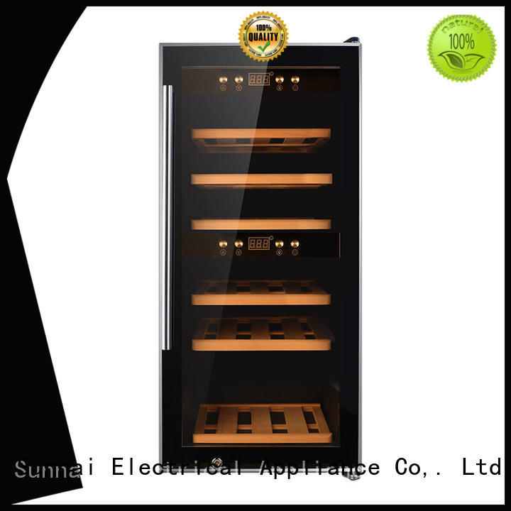 Sunnai durable freestanding wine cooler wholesale for home