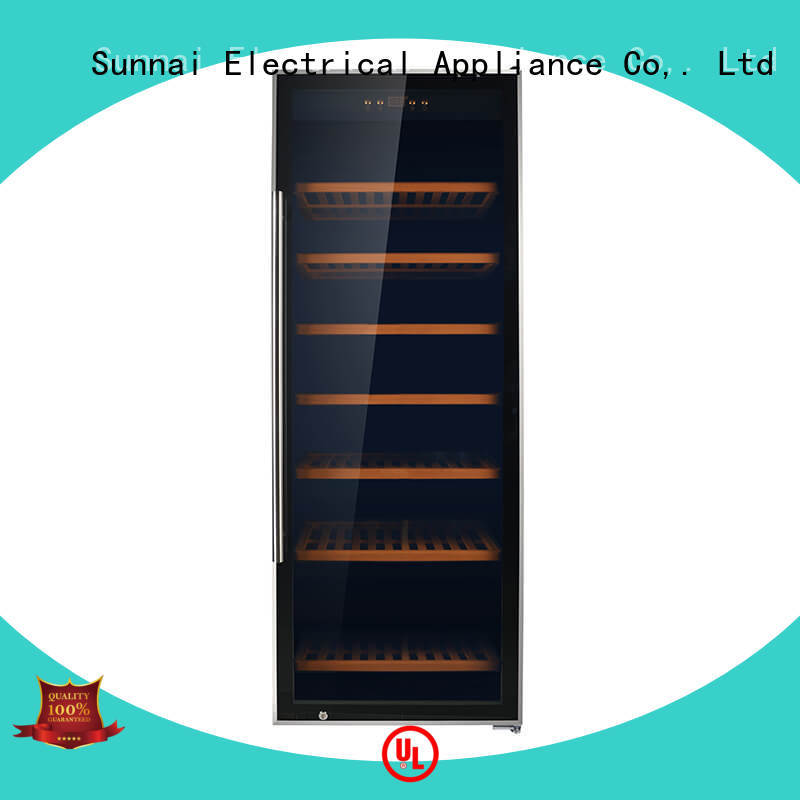 Sunnai online single zone wine refrigerator manufacturer for work station