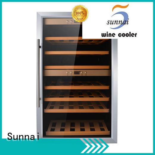 Sunnai online wine bottle cooler manufacturer for work station