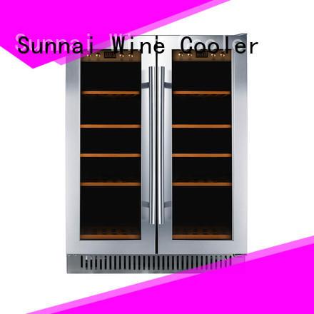 Sunnai online under counter wine cooler supplier for indoor