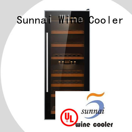 Sunnai shelves single zone wine cooler product for home