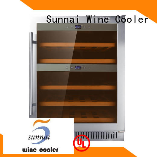 double under counter wine cooler door manufacturer for shop