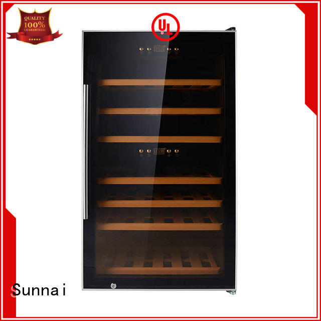 refrigerator 2 door wine refrigerator black shop Sunnai