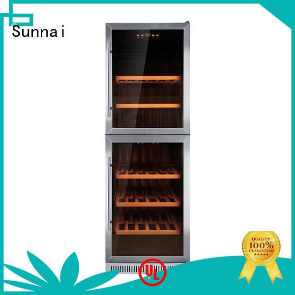 Sunnai professional under counter wine refrigerator supplier for work station
