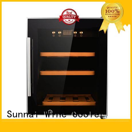 Sunnai steel stainless steel door wine cooler supplier for work station