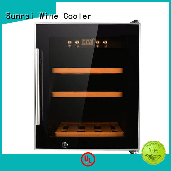 Sunnai high quality free standing wine refrigerator series for indoor