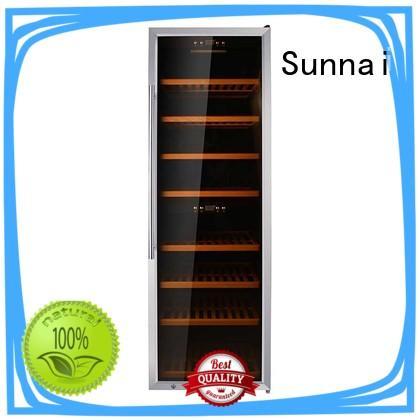 black freestanding wine cooler freestanding refrigerator for indoor