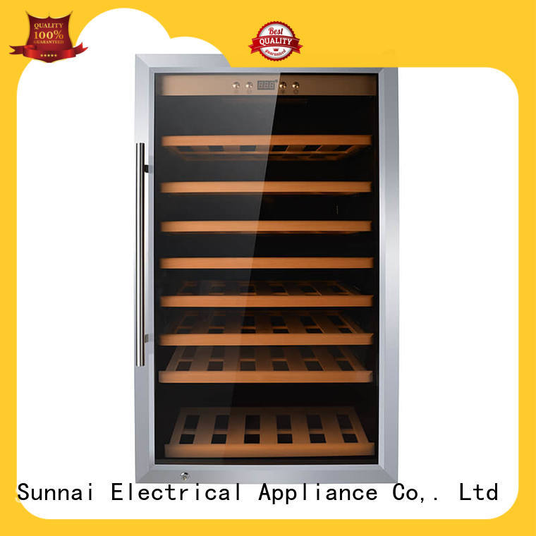 Sunnai cellar dual zone wine fridge series for shop