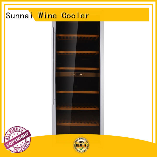 safety wine cooler refrigerator table supplier for home