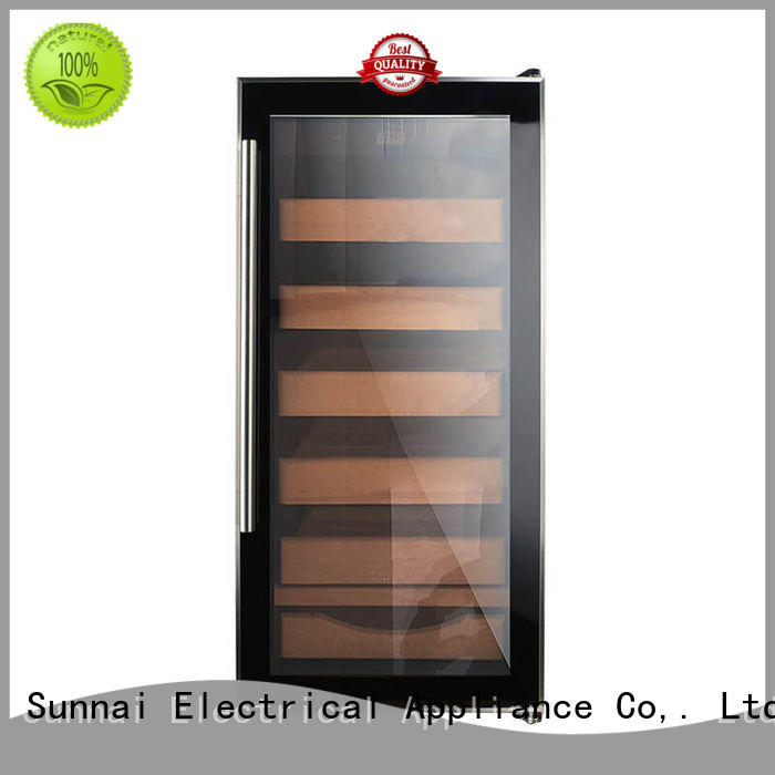 Sunnai online cigar refrigerator product for work station