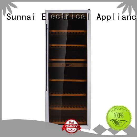 smaller wine cellar fridge steel home Sunnai