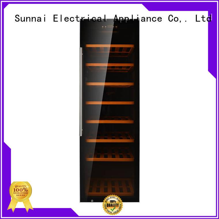 Sunnai single wine storage cooler supplier for indoor