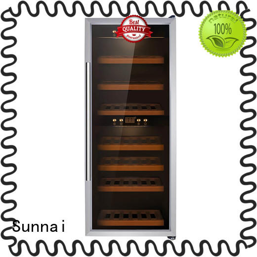 professional freestanding wine cooler chiller refrigerator for home