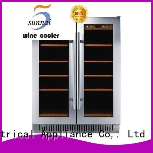 professional under counter wine fridge double wholesale for work station