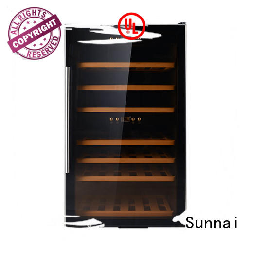 professional wine cooler refrigerator panel series for home