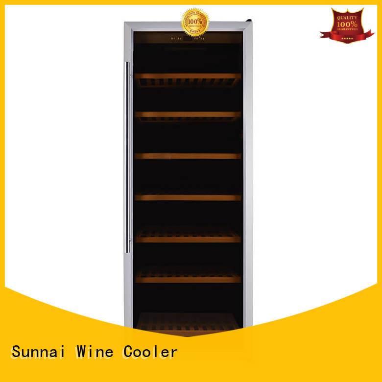 Sunnai wine single zone wine cooler manufacturer for indoor