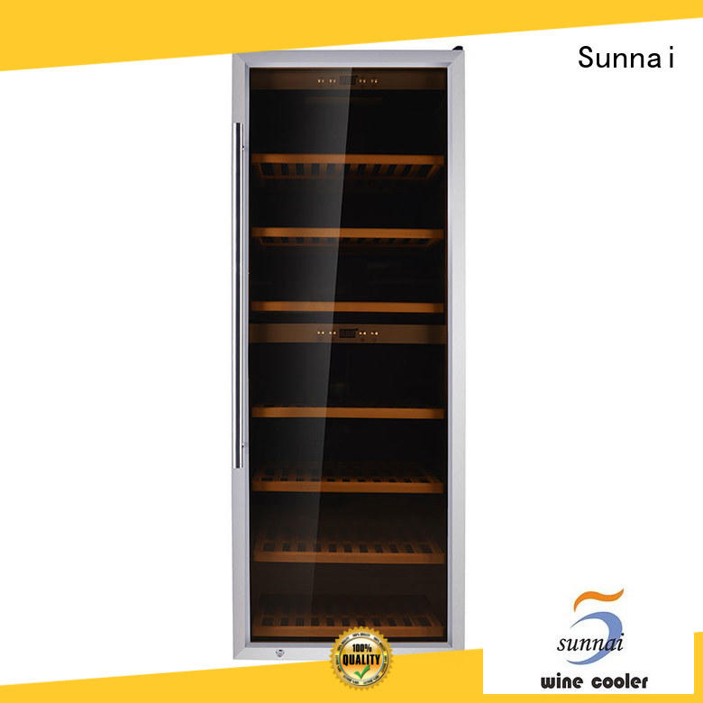 Sunnai wine freestanding wine fridge product for shop