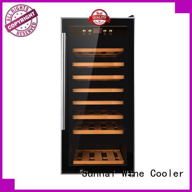 smaller wine storage fridge series for work station