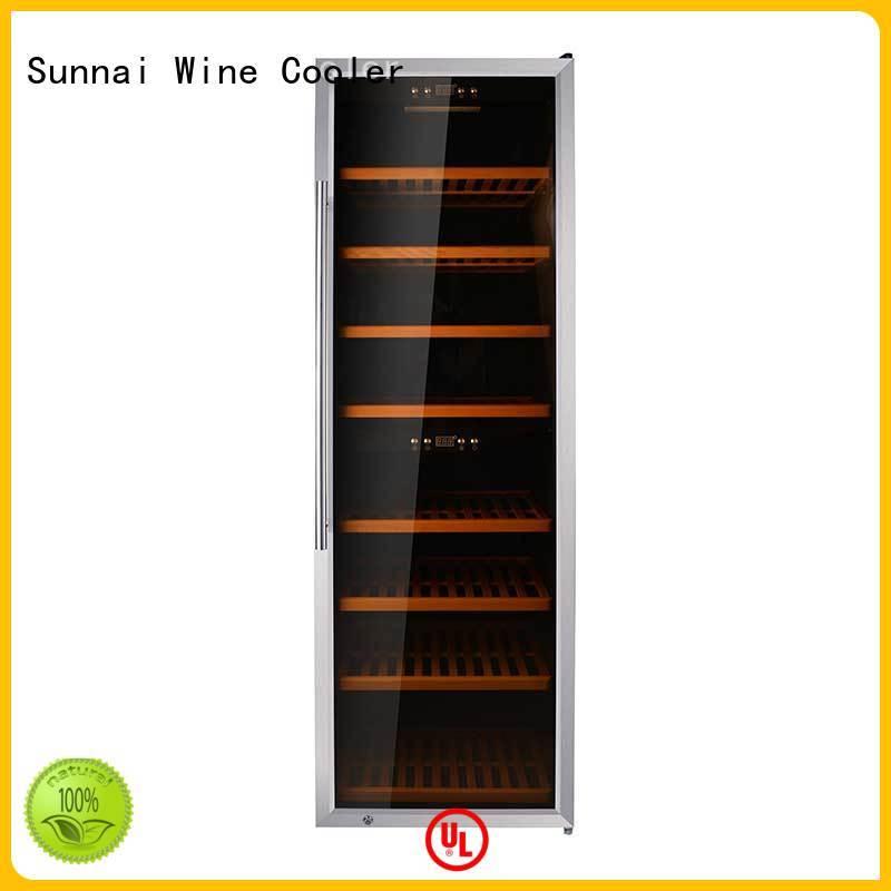 single wine bottle refrigerator refrigerator for indoor Sunnai