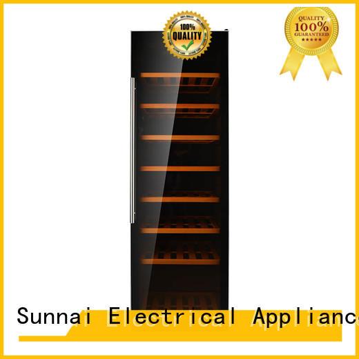 Sunnai bottles dual zone wine refrigerator refrigerator for indoor
