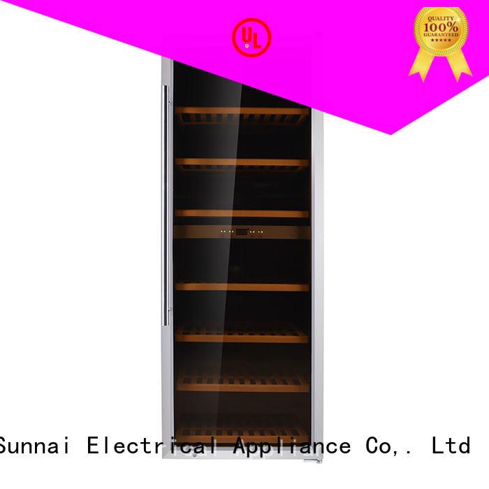 Sunnai fridge single zone wine cooler wholesale for work station