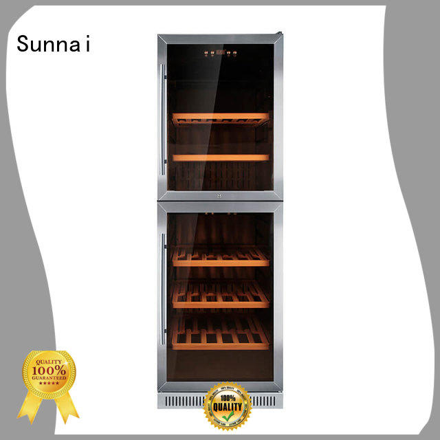 Sunnai professional under counter wine refrigerator series for work station