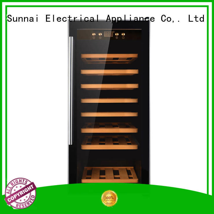 online wine storage refrigerator wood product for home