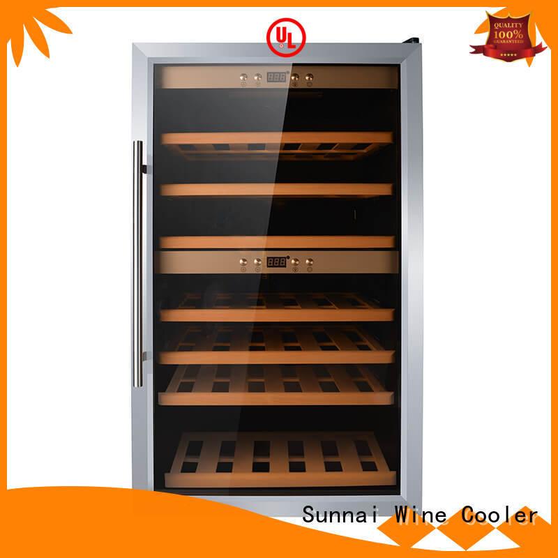 size cellar freestanding wine cooler chiller Sunnai