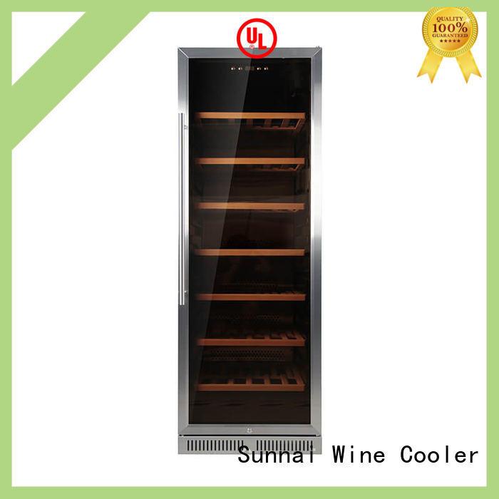 Sunnai single under counter wine fridge compressor for shop