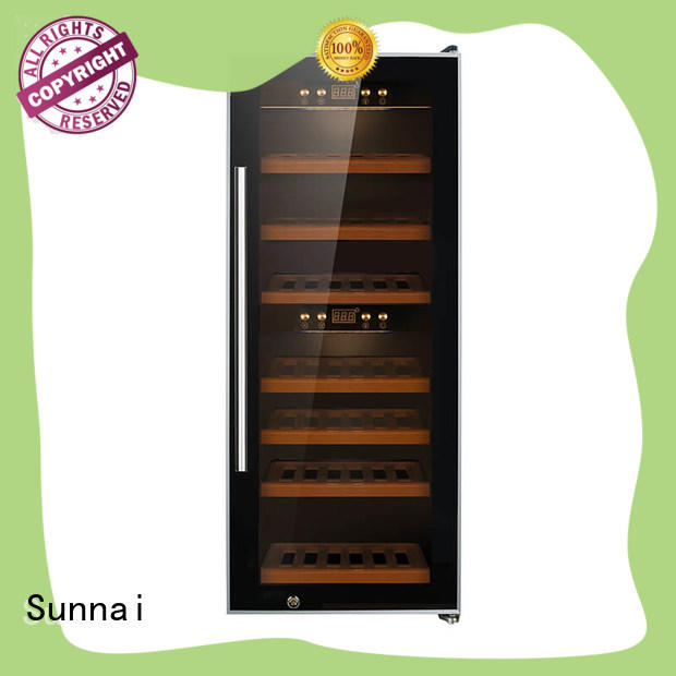 Sunnai single wine bottle fridge series for shop