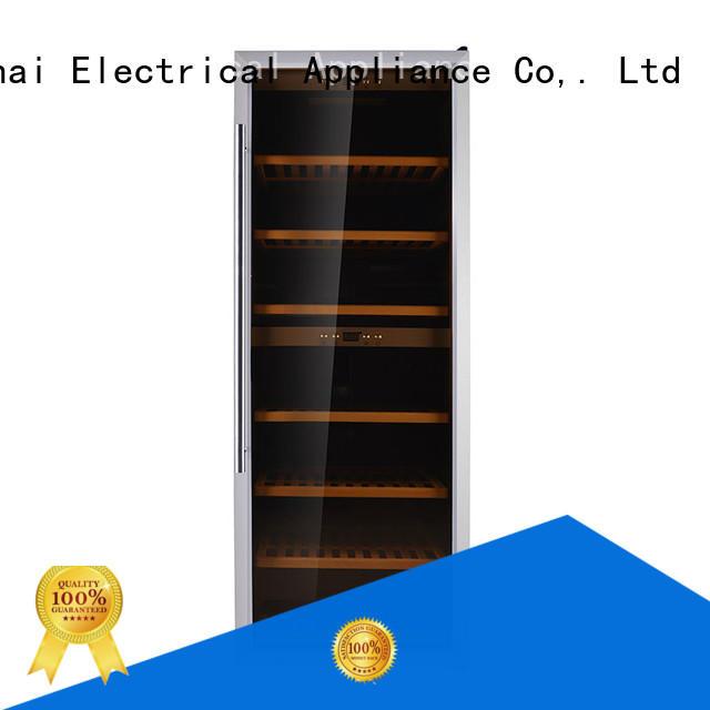 single compressor wine cooler dual zone door product for home