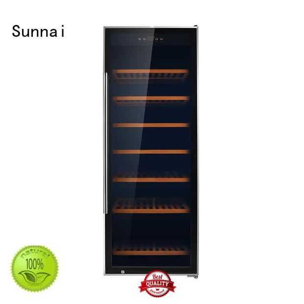 Sunnai fridge wine storage refrigerator manufacturer for shop