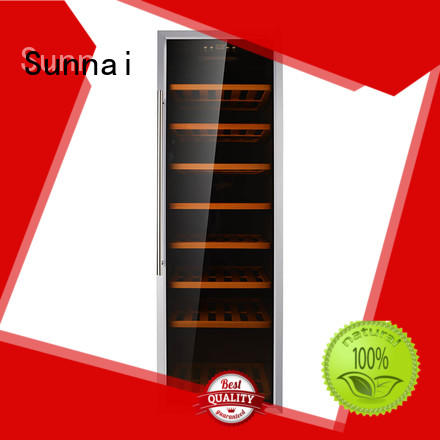 Sunnai single freestanding wine fridge series for home