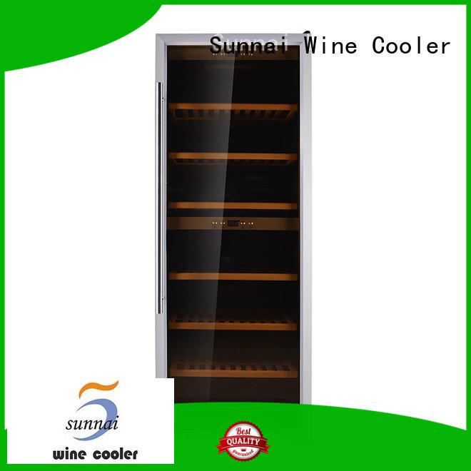 Sunnai wine single zone wine fridge manufacturer for shop