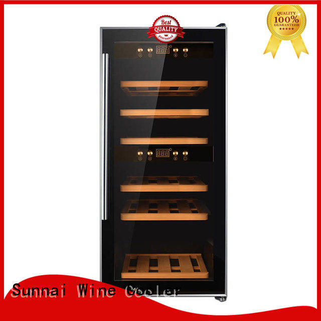 Sunnai cellar wine storage fridge supplier for shop