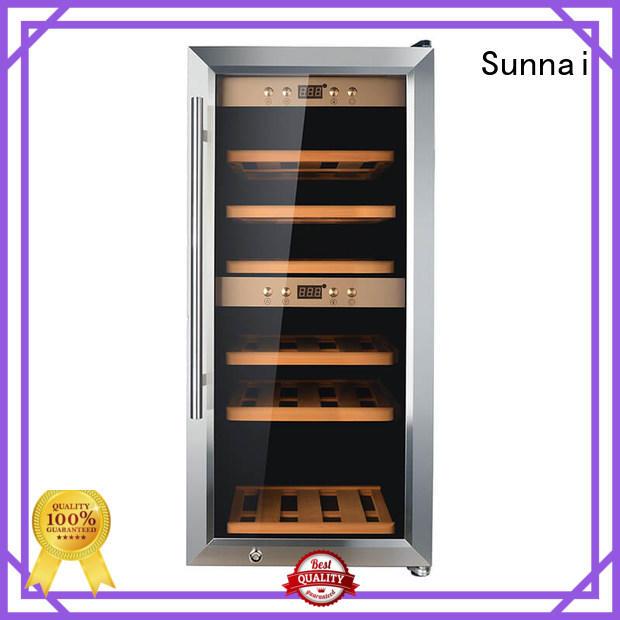 high quality wine cooler fridge zone manufacturer for work station