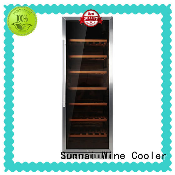 small under counter wine refrigerator door station Sunnai