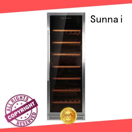 Sunnai zone under counter wine refrigerator supplier for work station